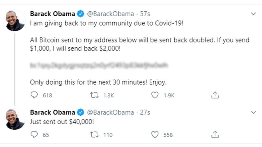 Obama, Musk, Gates and other high-profile Twitter accounts hacked in Bitcoin scam