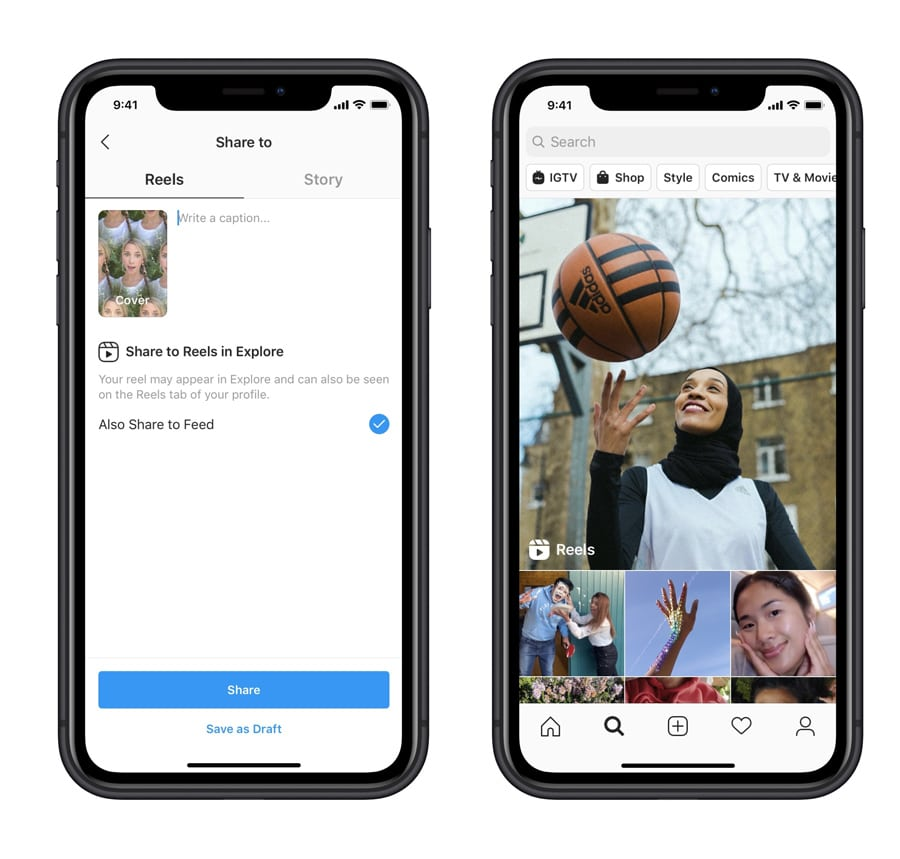 Facebook launches Reels on Instagram to replace TikTok